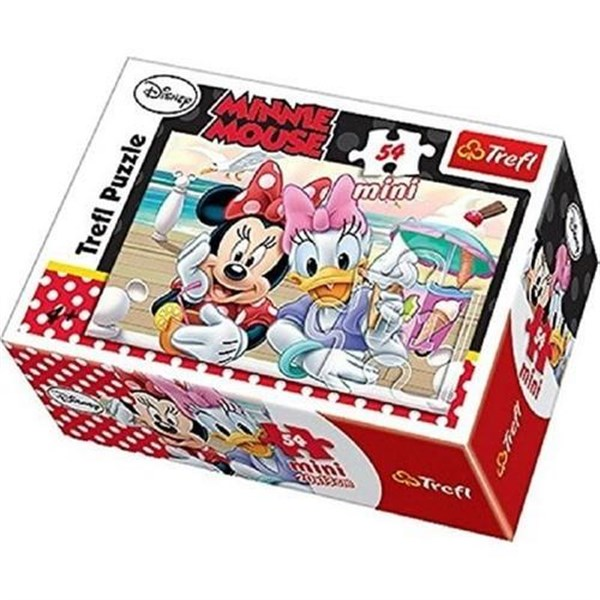 54 Parça Mini Puzzle Minnie - Model 1