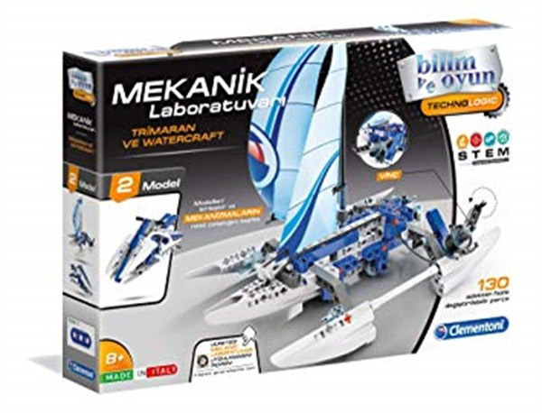 Clementoni Mekanik Lab Trimaran Ve Watercraft 64439