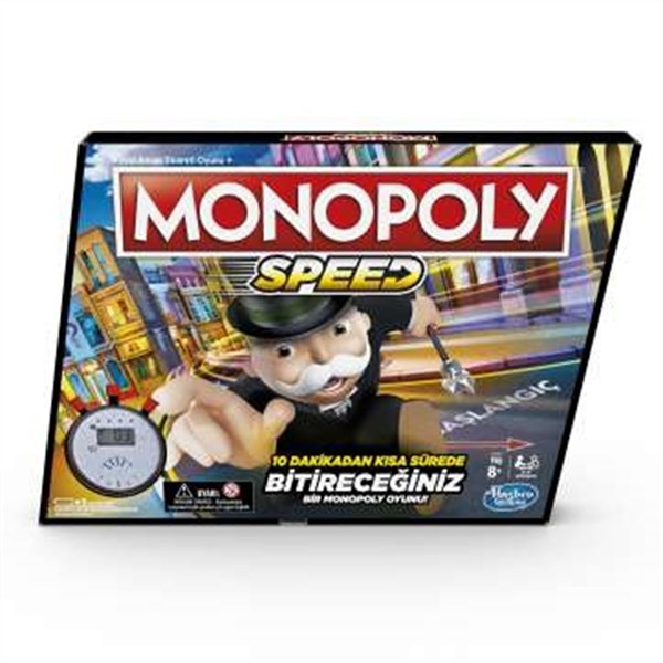 Hasbro Monopoly Speed E7033