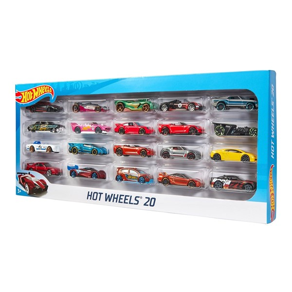 Mattel Hot Wheels 20'li Araba Seti H7045