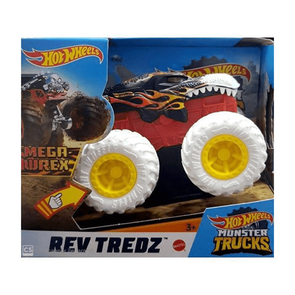 Hot Wheels Monster Trucks Çek Bırak Araba GMB86