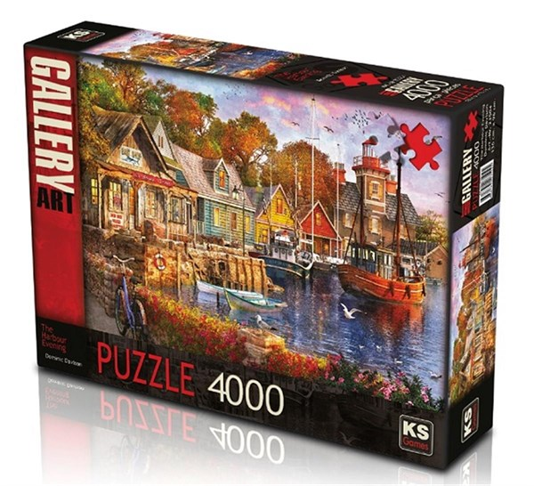 KS The Harbour Evening 4000 Parça Puzzle