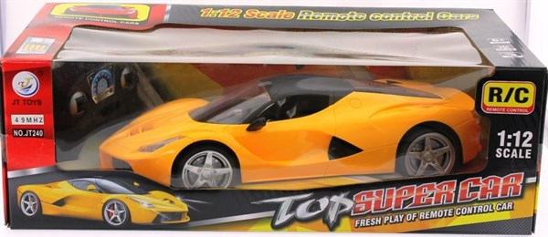 Sarjli Uzaktan Kumandali Top Super Car JT240
