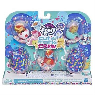 Hasbro My Little Pony Cutie Mark Crew Koleksiyon Party Style Seti E0193
