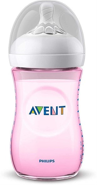 Philips Avent Natural PP Biberon Yavaş Akış 1 Ay+ 260 ml SCF034/17