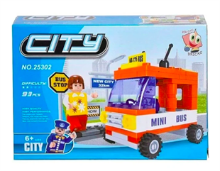 0131-25302 Ant Bricks 93 Parca City