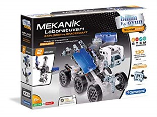MEKANİK LABORATUVARI-EXPLORER-SPACECRAFT