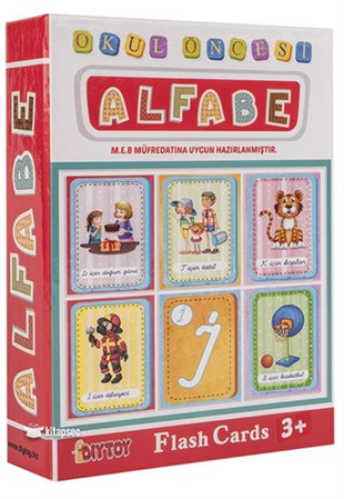 Diytoy Flash Cart Alfabe