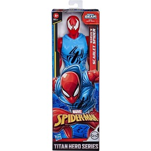 Hasbro Spider Man Titan Hero Web Warriors Scarlet Spider Figur E8521
