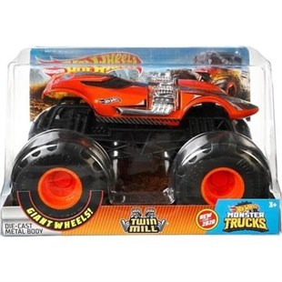 Hotwheels 1:24 Monster Trucks Araba Twın Mill GJG70