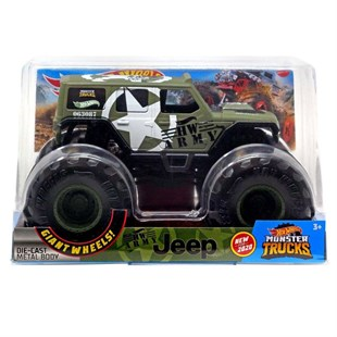 Mattel Hot Wheels Monster Trucks 1:24 Arabalar GJG71