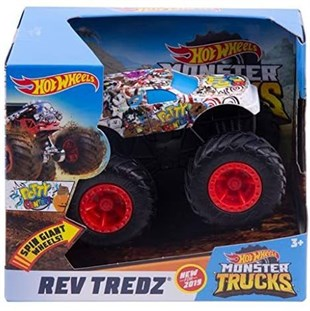 Hot Wheels Monster Trucks Çek Bırak Araba GBV15