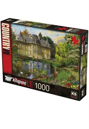 KS Games Mansion Lake 1000 Parça Puzzle