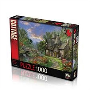 Ks Games The Old Waterway Cottage Puzzle 1000 Parça