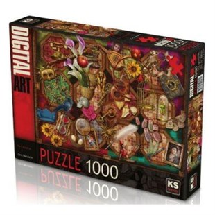 Ks Puzzle 1000 Parça The Collection