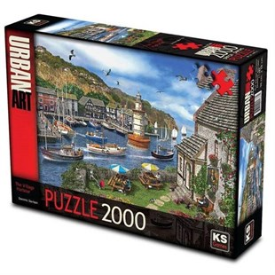 KS Puzzle 2000 Village Harbour