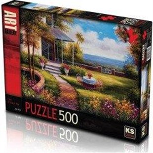 KS Puzzle 500 Parça Five O clock Tea