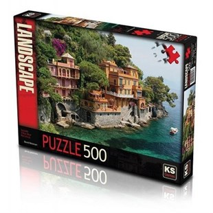 KS Puzzle 500 Parça Seaside Villas Near
