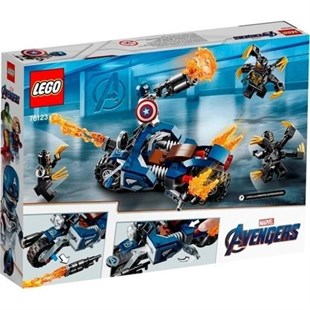 Lego Super Heroes Captain America Outrider 76123