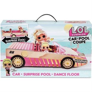 LOL Surprise Car-Pool Coupe Havuzlu Araba Cok Ozel LOL Bebek