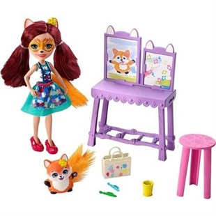 Mattel Enchantimals Bebekleri Piknikte GBX03
