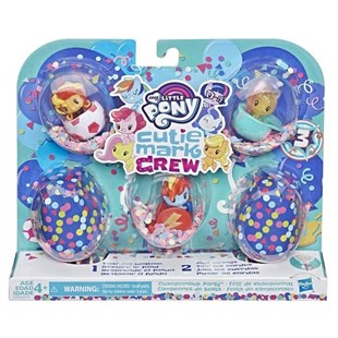 My Little Pony Cutie Mark Crew Koleksiyon Seti E0193-E3898