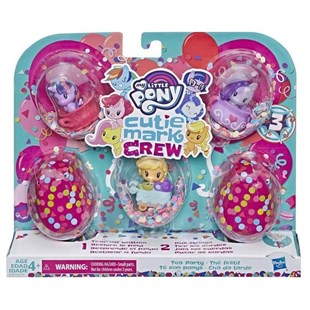My Little Pony Cutie Mark Crew Koleksiyon Seti E0193-E3897
