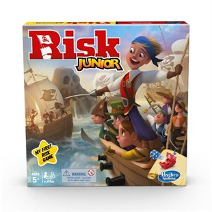 Hasbro Risk Junior Kutu Oyunu E6936
