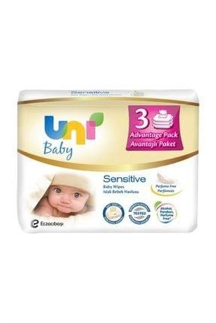 UNI BABY SENSITIVE ISLAK HAVLU 3LU (8)